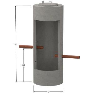 Fosforfälla, kompletterar enskilt avlopp så att det klarar hög skyddsklass.